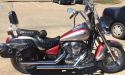 2007 KAWASAKI VULCAN 900 CLASSIC LT, ONE OWNER, 10,000 MILES, NEW TIRES, EXCELLENT CONDITION, $2,850.00 PLEASE CALL 501-772-4354, LOCAL PICKUP ONLY
