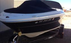 Used Boat in excellent condition must see to appreciate. Loaded with many extras . Serviced and well maintained . Boat kept winterized and in dry storage off season, Under cover dock during season. This bpat has many upgraded extras and addtional