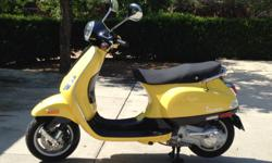 2007 Vespa LX150. Like new, lovingly cared for - only 1,700 miles! Fun (and cheap) transportation - 70 mpg.