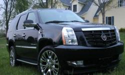 This 2008 Cadillac Escalade is in great Condition has all the features you would dream for !!! Heated steering wheel, heated seats, flip down rear tv, navigation double din, 3rd row seats, 2nd row seats power fold options,Seats up to 8 passangers.Ideal