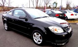 Chevrolet Cobalt LS Coupe*33MPGs*1-OWNER-CARFAX 5 Speed Manual Black 74371 4-Cylinder L4, 2.2L; DOHC2008 Coupe Broadway Motor Car Inc. (518) 477-7500