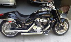 2008 Suzuki Boulevard M109, For sale is a 2008 Suzuki M109r. I am the first owner, bought it new in 2008. I have been putting custom parts on this bike since I bought it. I have installed Raw Design Flats front turn signals, Raw Design rear turn signal,
