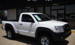 4x4 that gets GREAT gas mileage!!! This 2008 Tacoma is like new with a used car price!! 4x4, bed liner, new tires, CD, and much more! Check out our video walk around of this vehicle at http://www.youtube.com/watch?v=Al5JVS4mYcA Contact Will TODAY
