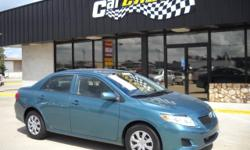 2009 Corolla priced below retail!!! This Corolla is going to get you 30+ mpg, its sporty, the color is awesome, and this is a great payment car! 4 Door, 2 Wheel Drive, Automatic Transmission, Air Conditioning, Power Door Locks, Power Mirrors, Power
