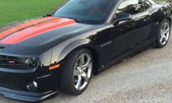If you have any questions feel free to email: elenoressigler@ukcentre.com . 2010 Camaro RS SS 6 speed manual. Car has 809 miles and has never been registered. It has Kooks headers and complete exhaust system 3 inch, full pedders suspension kit, ZL1 fuel