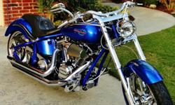 This is a beautiful softail cruiser that's in immaculate condition and barely used with only 319 original miles on it. The bike runs perfect and is a very comfortable ride--I bought it 2 years ago with 21 miles on it. Dirico Motorcycles