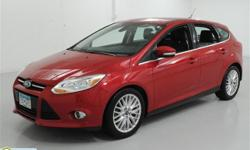 Morrie's Buffalo Ford 2012 Ford Focus SEL Asking Price $13,555 Contact [CONTACT NAME] at () - for more information! 2012 Ford Focus SEL Price: $13,555 Engine: 2.0L 4 cyls Color: Red Candy Metallic Tinted Clearcoat Stock#: 9P24097A Transmission: