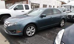 2012 Ford Fusion SE Smooth Ride Plus Great MPG!!! This car has all the whistles stop by and test drive this sharp looking gas saving car has a gas saving 4 cy motor withonly 77K, Sirius radio, CD stereo, cloth interior, Loaded with power