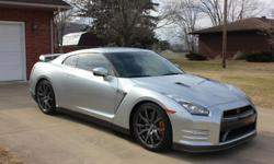 2012 Nissan GTR in Super Silver with 37200 miles. At time of purchase the differentials front and rear fluid was changed along with oil and filter. New Dunlop SP Sport 7010 A/S DSST tires installed at time of purchase. Tires have about 5-7K miles