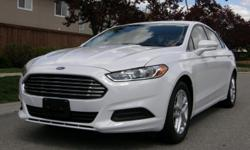 2014 FORD FUSION SE * 4-Cyl, 2.5L * ONLY 800 miles * 34 MPG!!! 2014 FORD FUSION SE * 4-Cyl, 2.5L * White * ONLY 800 miles * Automatic Transmission * Traction Control * Advance Trac * ABS * POWER Steering * Tilt and Telescoping Wheel * Keyless Entry * Air