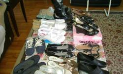20 PAIRS OF NEW AND USED SHOES, size 8'1/2. 9 IN GREAT CONDITION. calling price $200.00 negotiable sharonbarnes89@yahoo.com