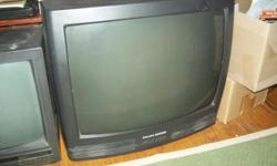 black 21 inch tv nothing wrong with it just got a larger tv