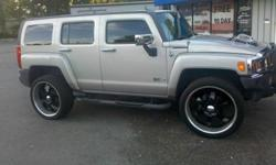 6 lug black&chrome rims with tires like new! Call Brian at 501-912-0602 today!