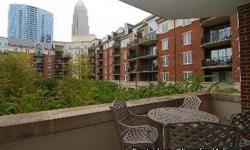 Fantastic 2-bedroom, 2-bath unit with a balcony in uptown. Unit overlooks a courtyard and features breathtaking views of the Charlotte skyline. Rent includes one parking space in deck. Amenities include a pool, gym, putting green and 24-hour concierge To
