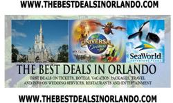 2 DISNEY, UNIVERSAL, SEAWORLD OR ISLANDS TICKETS FREE!! SAVE $180!! NEW PROMO!!! OR 2 CIRQUE DU SOLEIL OR 2 BLUEMAN GROUP TICKETS FREE!!! We are doing a promotion for a beautiful resort by ISLANDS OF ADVENTURE. We make a reservation for a FREE hot