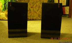2 small Denon Speakers 5.5 (2 way speaker system) Cash Only