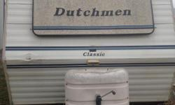 $4000/OBO. 1993 DUTCHMEN Travel Trailer, 3day holding tank. One bedroom with queen size bed. One bedroom with bunk beds. There needs to be some work done to the flooring of the trailer and tires replaced so we would take that into consideration concerning