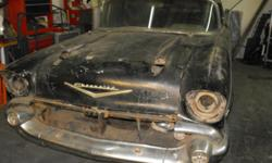 57 chevy bel air 2 dr. hard top factory bel air project needs restoration the body is in good shape it only has minimal rust on both quarter panel and the front floors it has all the glass in goo shape except for the driver window is broken