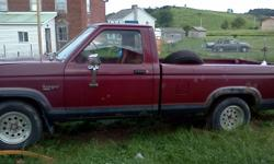 2.9l engine, automatic transmission(needs repaired), 6ft bed, some rust