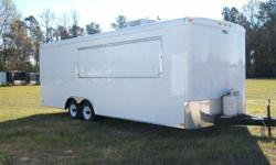 Pro Concessions 3740 Washington Road Martinez, GA 30907  Cell: -- proconcessions@yahoo.com  Price Includes: Smooth White Aluminum Exterior Additional Roof Bows (16? O/C) Lin. Ft. 7 ½ Ft. Interior Height Removable Hitch (Anti-theft