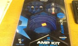 Sheps Wholesale has 8 AWG Complete AMP KIT with RCA up to 360w Systems with spec copper clad aluminum. made by Raptor Brand New in the package For $29.95. Mid Series Shep's Wholeslae 5420 Doolittle Road Jacksonville, FL 32254 Mon-Fri 8-5 904-854-6637 Erin