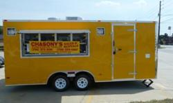 8x16 2010 Brand New Concession Trailer Loaded! Chasony's Concession Trailer Sales and Rentals Call Now! Office: 318-473-4494 Office: 318-473-4494 Office: 318-473-4494 ext.101. Cell: 318-473-4494. Tony Pearson. 8x16 2010 Brand New Concession Trailer