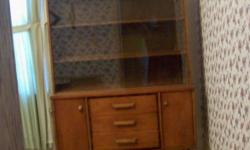 Includes the following: Hutch Buffet Table with extra insert 5 Chairs with no arms 1 Chair with arms A very heavy sturdy made set styled from the 60's! In nice pre-owned condition Ebensburg Area