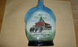 Jim Beam 1970 Preakness Decanter Bottle No Chips or Scratches