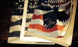 Abeka books United States history text book,quiz book, test key. Grade 11. Call 509-445-1833,509-589-1579,509-589-1583