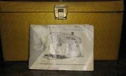 Accessory kit for Singer sewing machine model#503 slant-o-omatic. Packed with good stuff and original manual! rare item!