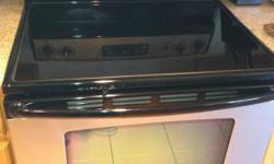 We have an awesome Admiral Electric Stove that we are selling for only $350!! Its glass top and is in great working condition. Very clean oven. We are looking to sell it by the end of June, so please contact us soon because its sure to sell fast. We live