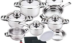 We have a variety cookware at low affordable prices. Choose from Stainless Steel, Waterless, and Nonstick Cookware. We also have cooking and dining accessories. Visit my website at http://dlponlinestore2.com