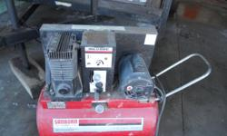 It's a sanborn 2 HP 40 PSI need to sell asking $300.00.