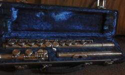 Used Armstrong 104 student flute with hard case. $50 OBO contact me at jejmej1@yahoo.com or 713-868-9500