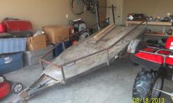 Dilly boat trailer converted to ATV trailer. Must sell!