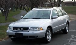 2000 Audi Quattro Wagon Rides Great Is Loaded With Cutting Edge Features Price: $4500 Auto Make: Audi Auto Model: Quattro Wagon Auto Year: 2000 Auto Style: Wagon Auto Color: Silver Auto Mileage: 148492 Power Heated Leather Bucket Seats * Center Console *