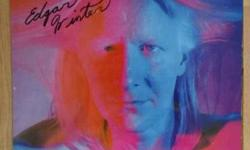 Rock and Roll Hotchie Coo Autographed by Edgar Winter brother to the late Johnny Winter Please make an offer!