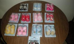 I have 12 diffrent styles of baby shoes for boys in girls