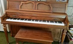 Beautiful Baldwin Acrosonic piano and bench. Good condition. Must sell for estate. Located in Salt Lake City, UT. Will need to pick up. Send email to Estate2442@aol.com if interested.