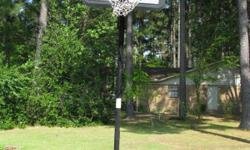 Huffy adjustable basketball goal.