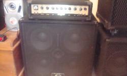 Bass Amplifier ( Crate )BX 220H, 550 Watts, 150 Watts @ 8 ohms, 220 Watts @ 4 ohms, Duel speaker jacks, Excellent Shape $ 150.00 Call: Lane Bouquet Home: 832-932-3176 Cell: 225-244-1517