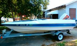 15ft bayliner 70hp chrysler 700. great boat and trailer. comes ready for the lake. current tags on both boat and trailer.