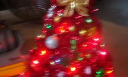 These are BEAUTIFUL trees all light up and decorated, THEY MAKE GREAT GIFTS FOR Grandma's and Grandpa's teachers and ect.