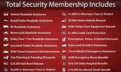 """It only cost $40 (first 2 months prepaid membership) to become a """"Total Security Member"""" with Motor Club of America, and $19.95 per month thereafter. Now the compensation plan offered by Motor Club of America is by far the most lucrative above any within"""