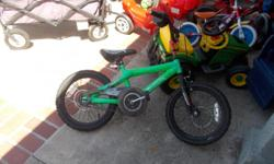 small bike for sale Hot Wheels green color call Ray714 719 9502