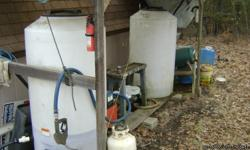 Bio Diesel Filtering System. $ 2500,00 o.b.o. Just sold my Diesel Rig and no longer in need of the system You will need some used restaurant vegetable oil to work it. (this may be free at some locations for your pick-up) The picture shows all