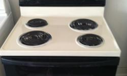 BLACK AND TAN WHIRLPOOL COIL TOP STOVE WORKS WELL!! MUST CALL WILL NOT RESPOND TO EMAILS OR MESSAGES ONLY CALLS AND TEXTS EIGHT---FIVE--ZERO--FOUR--NINE--ONE---TWO--THREE---TWO--NINE