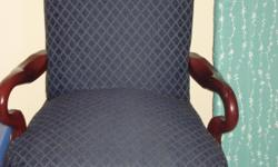 Blue chair for sale