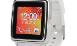 Bluetooth Smart Watch lets you make the most out of your Smartphone as it has a Touch Screen, SMS and Phonebook Sync plus it can be used to make and answer calls. Syncs With Phones This Bluetooth watch is the ideal extension of your smart phone for added