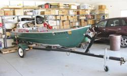 14 foot aluminum fishing boat with 5 1/2 hrs motor and trailer. Owner is in St. Cloud at 320-203-7233.  Boat is in Osakis Mn Location contact 320-859-5261  or email rdstowe@arvig.net.